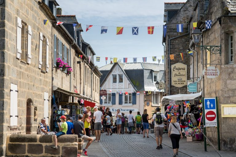 Les activités dans le Finistère : VISITE DE LA VILLE DE ROSCOFF