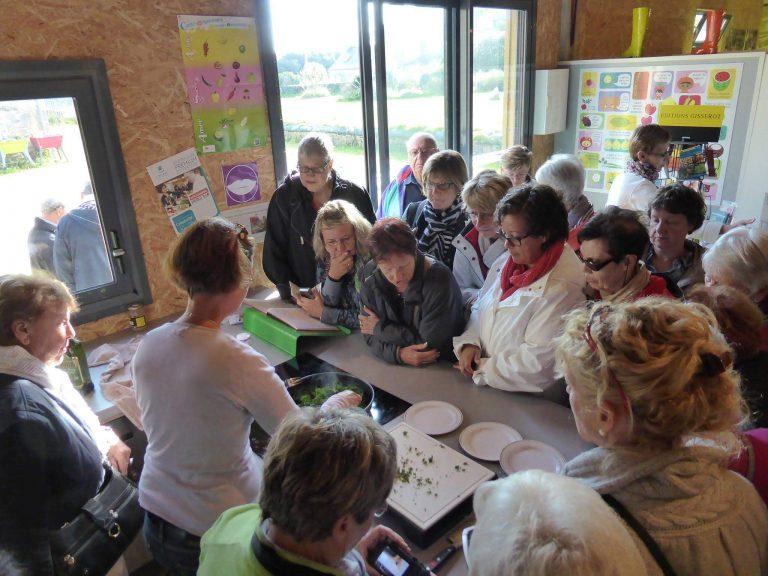 Les activités dans le Finistère : LÉGUMES PROJECT